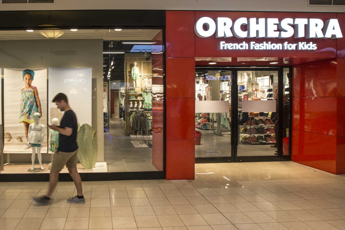 Orchestra, French Fashion for Kids, is opening its doors today at the King of Prussia Mall as the retailer´s first brick and mortar store in the U.S.