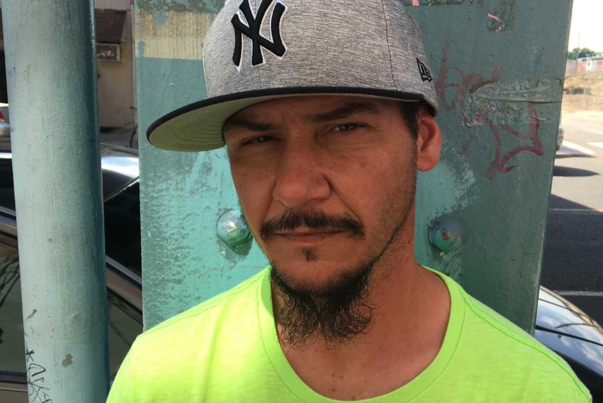 "Chris Terilla, 43, of Kensington, says being called ""white trash"" was something he wore like a badge of honor: ""I´ve been white trash in my life."""