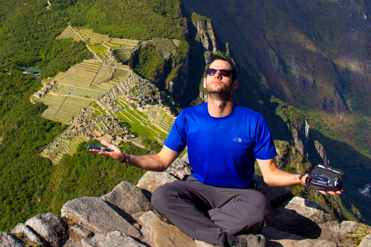 Former CBS3 reporter Oren Liebermann atop the Machu Picchu Inca Trail.