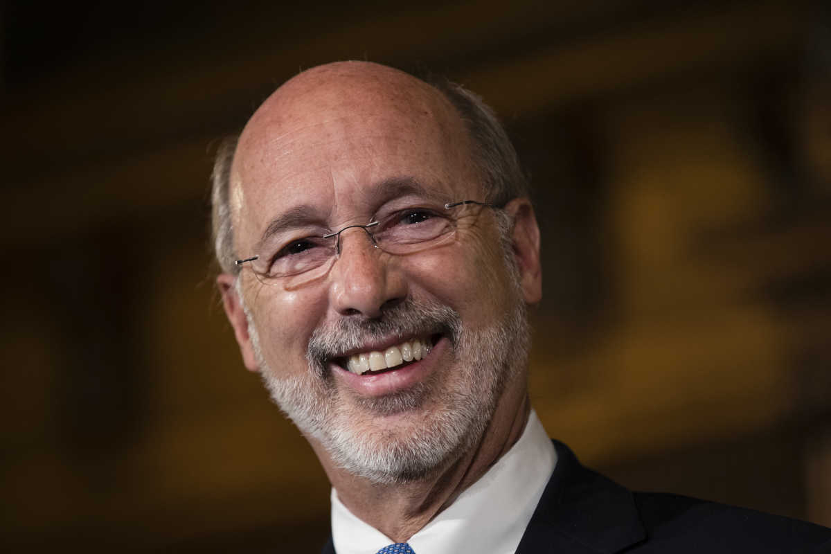 Gov. Wolf, expected to sign Real ID law.