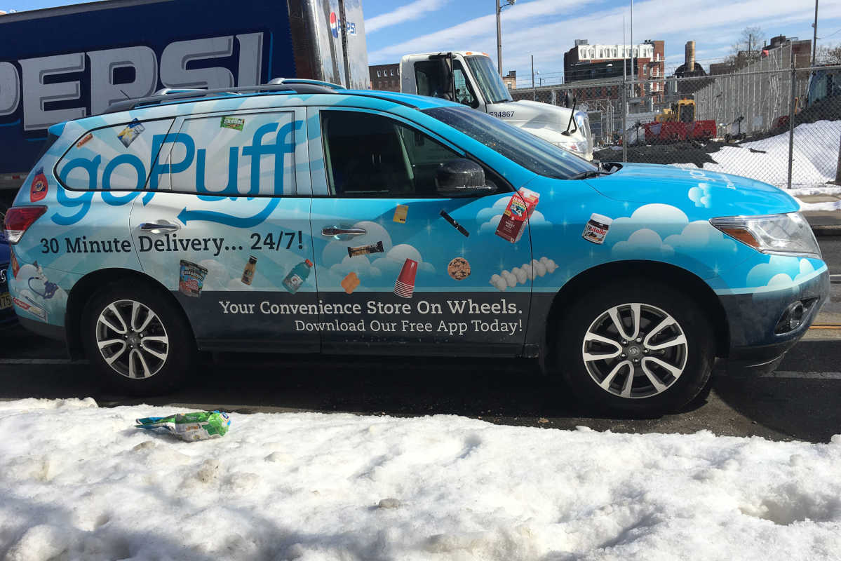 goPuff, the online app-driven delivery service started by two former Drexel students, is doubling its coverage area in Northeast Philly.