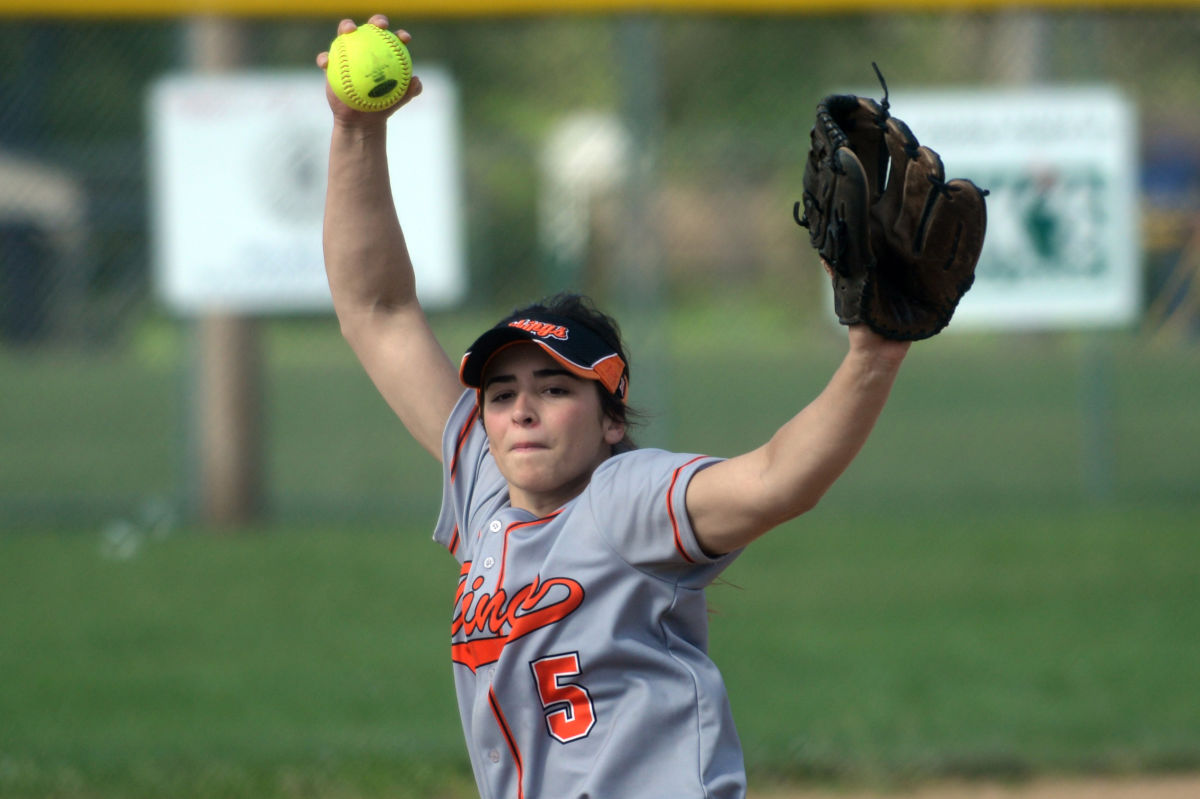 Perkiomen Valley's Abby Wild tossed a no-hitter Wednesday against Central Bucks South. ROBERT O. WILLIAMS