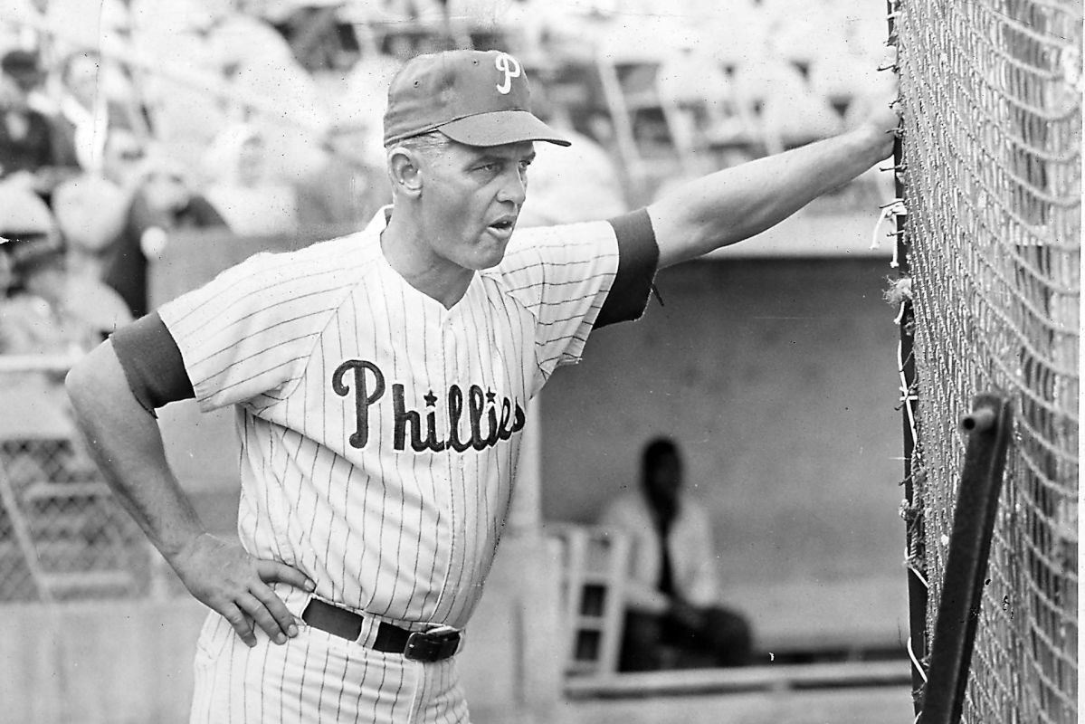 Manager Gene Mauch used multiple strategies in an attempt to spark the Phillies during their 23-game losing streak in 1961, but they were little to no avail.<br /><br />