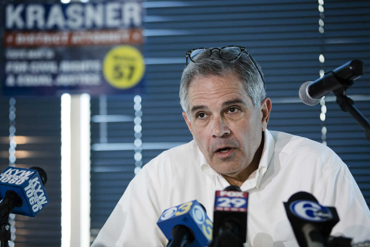 In Philadelphia's recent primary, the results weren't business as usual. Larry Krasner, an outsider with a distinct agenda, won.