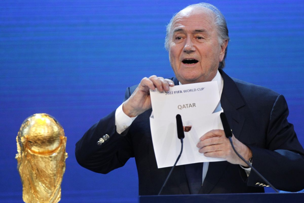 Three South Americans are accused of taking million-dollar bribes to support Qatar´s successful bid to host the 2022 FIFA World Cup.