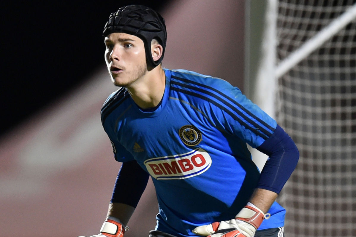 John McCarthy will be back in net for the Union in Wednesday's U.S. Open Cup game against the Harrisburg City Islanders.