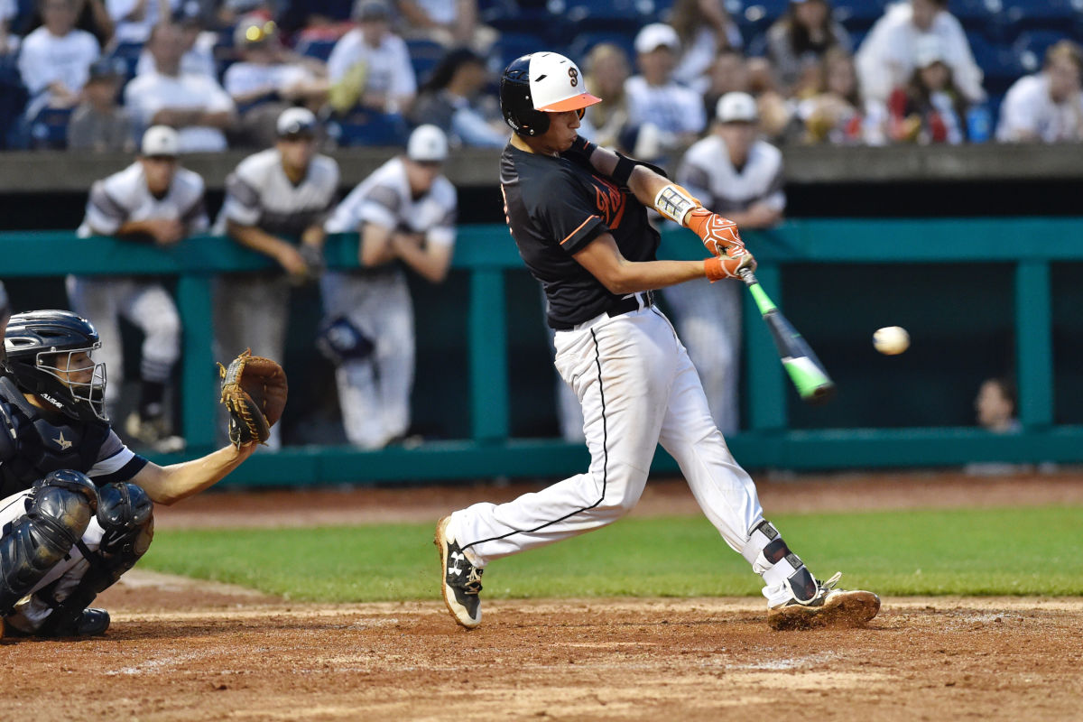 Pennsbury´s Josh Tesarck bats in the third inning.