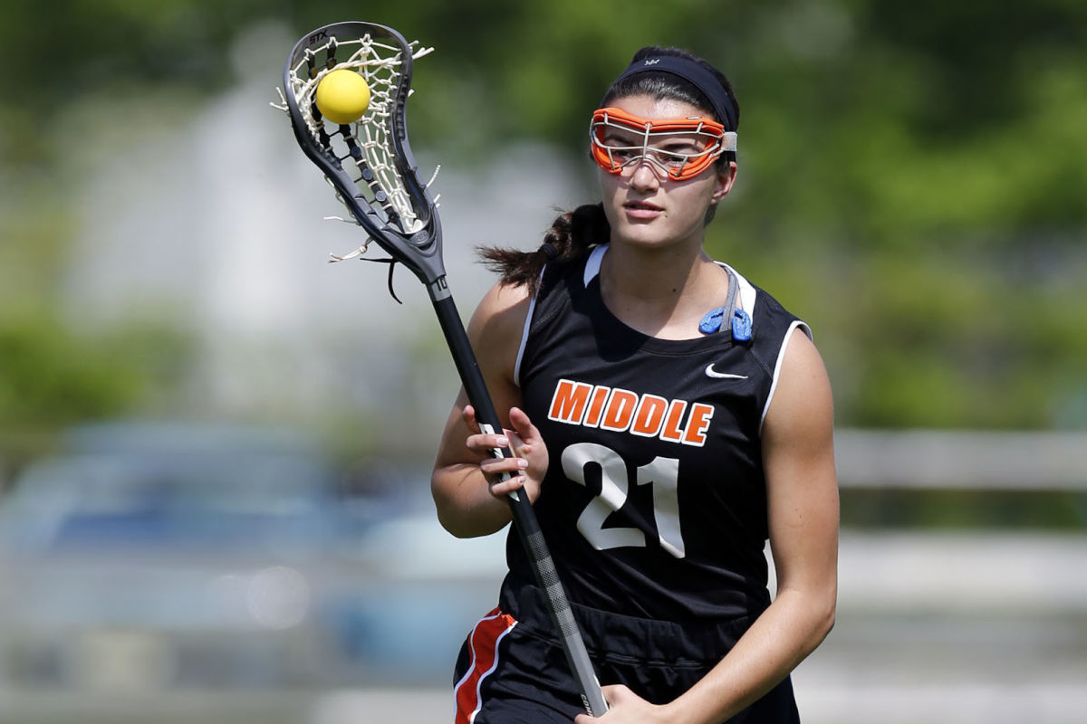 Middle Township High lacrosse midfielder Bridget Ruskey.