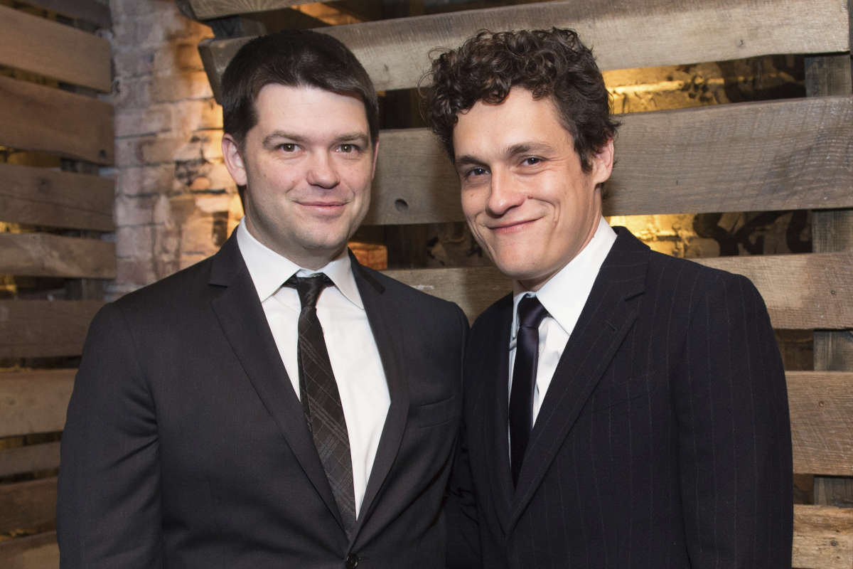 Christopher Miller, left, and Phil Lord are no longer directing the Han Solo Star Wars spinoff film.