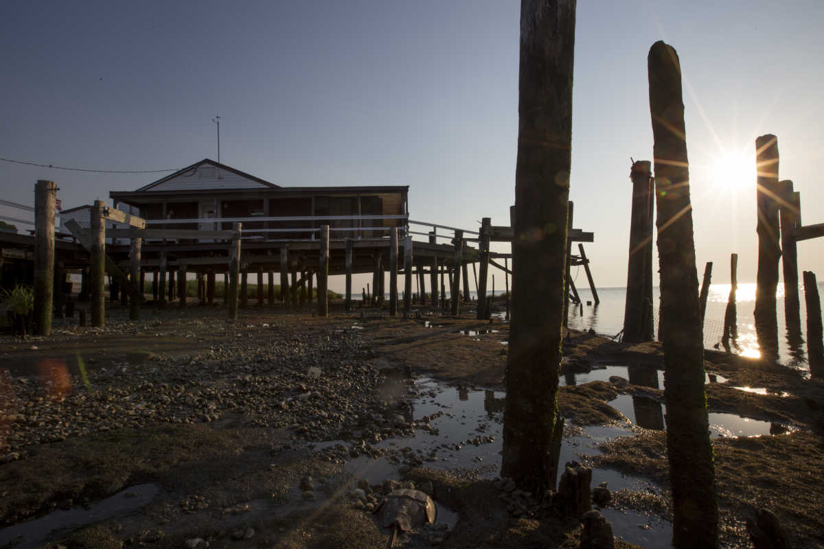 On the delaware bay nj town struggles against sea rise philly nvjuhfo Images
