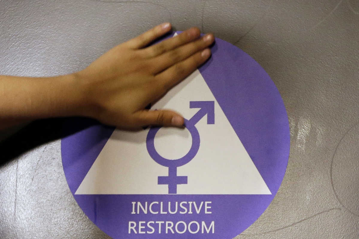 At a Seattle high school, officials designated a gender neutral bathroom. In New Jersey, a new law schools from forcing the students from using bathrooms that conflict with their gender identities.