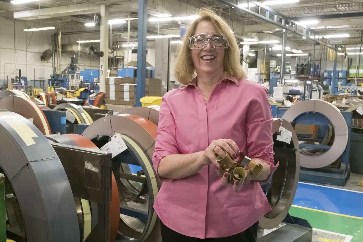 Susan Sweeney, president of GGB Bearing Technology.