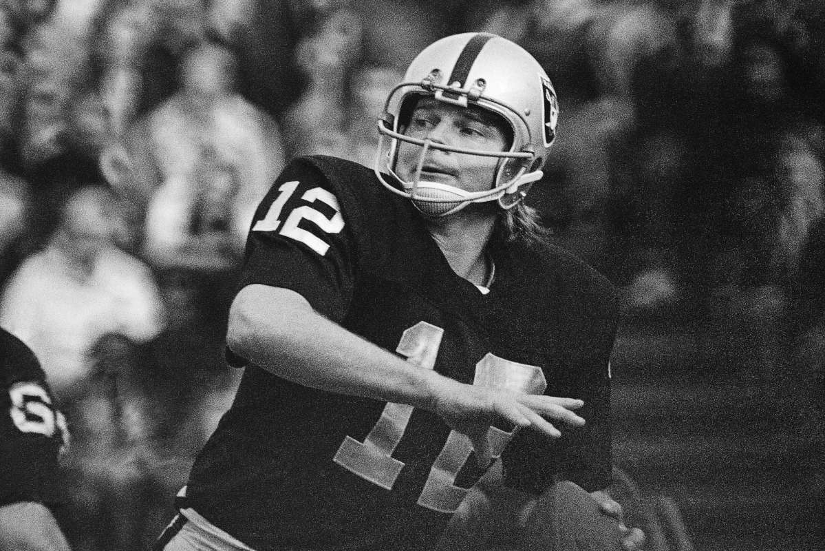 Oakland Raiders quarterback Ken Stabler was found to have CTE after his death.