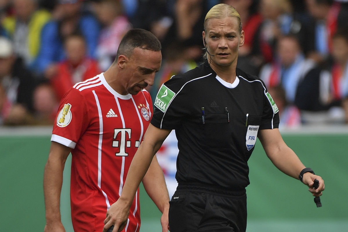 Carving her way in a man's world, Bibiana Steinhaus is striking a blow for equality as the Bundesliga's first female referee this season. The 38-year-old police officer, who has been refereeing in the second division since 2007, is one of four referees promoted by the German football federation to the top flight.
