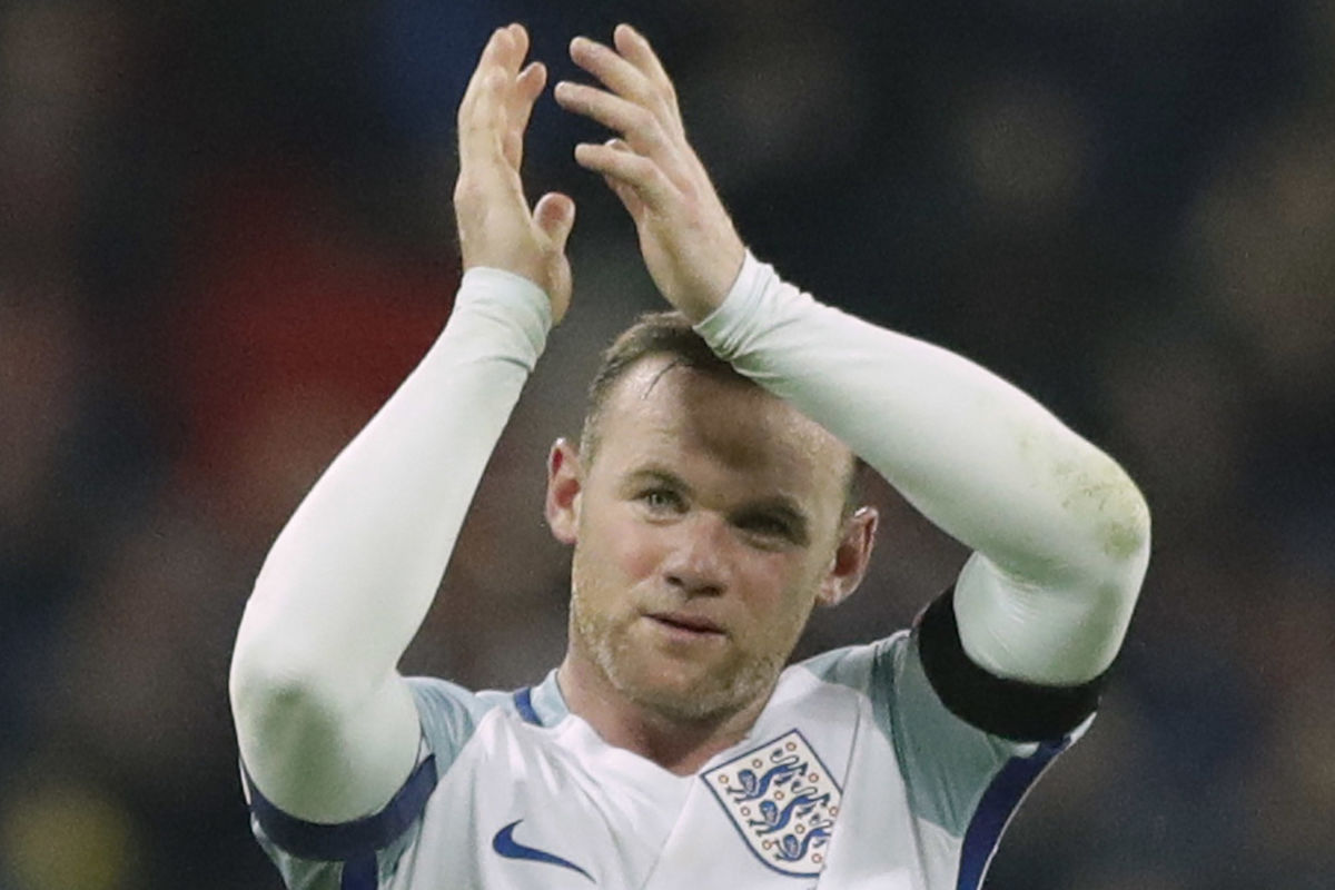 Wayne Rooney played 119 times for England's national team, the most by an outfield player and six games behind goalkeeper Peter Shilton's all-time record.