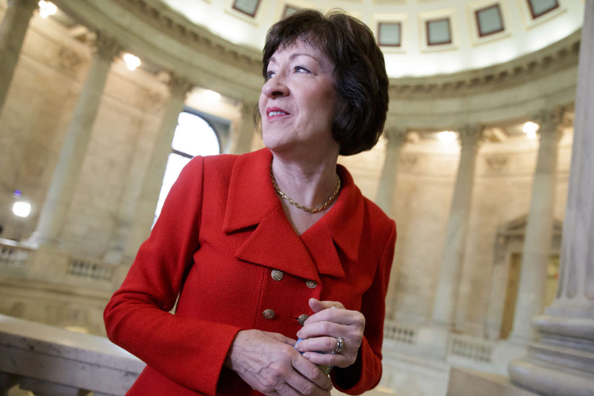 Sen. Susan Collins, R-Maine, says she will likely vote against the latest effort by her part to repeal the Affordable Care Act.