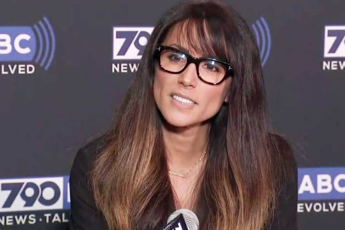 Los Angeles radio anchor Leeann Tweeden discusses her allegations of sexual harassment by Al Franken during a 2006 overseas USO tour, before he became a U.S. senator from Minnesota, at ABC7 studios in Glendale, Calif.