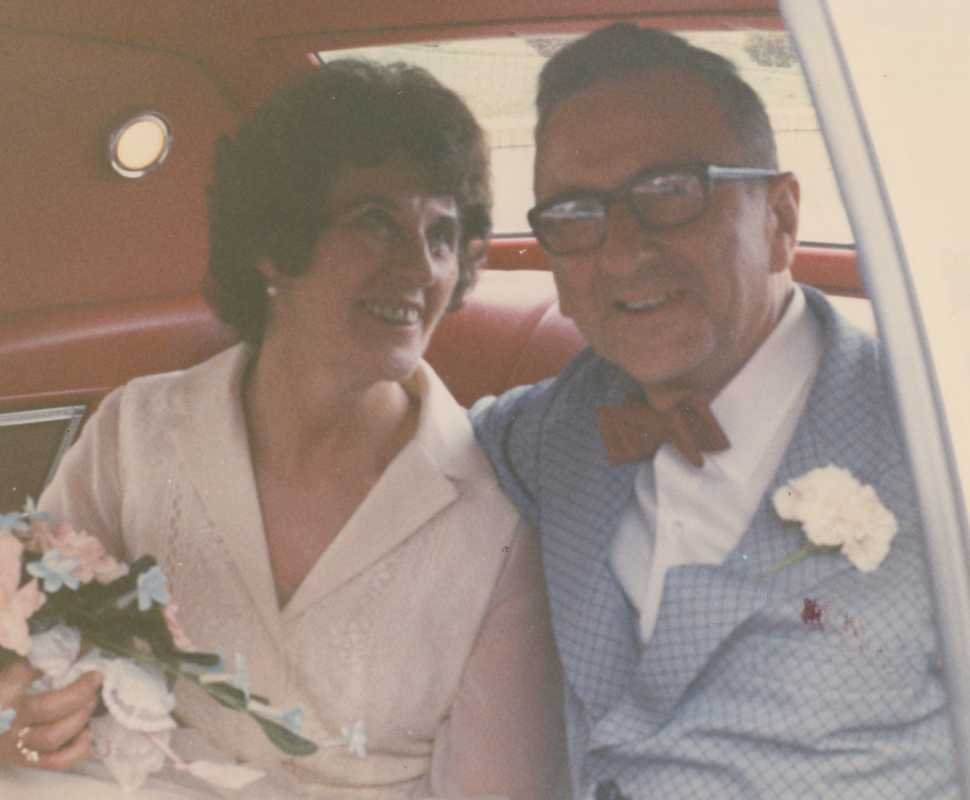 Cyril E. Daly with his second wife, Ruth B. Daly. They married in 1973.