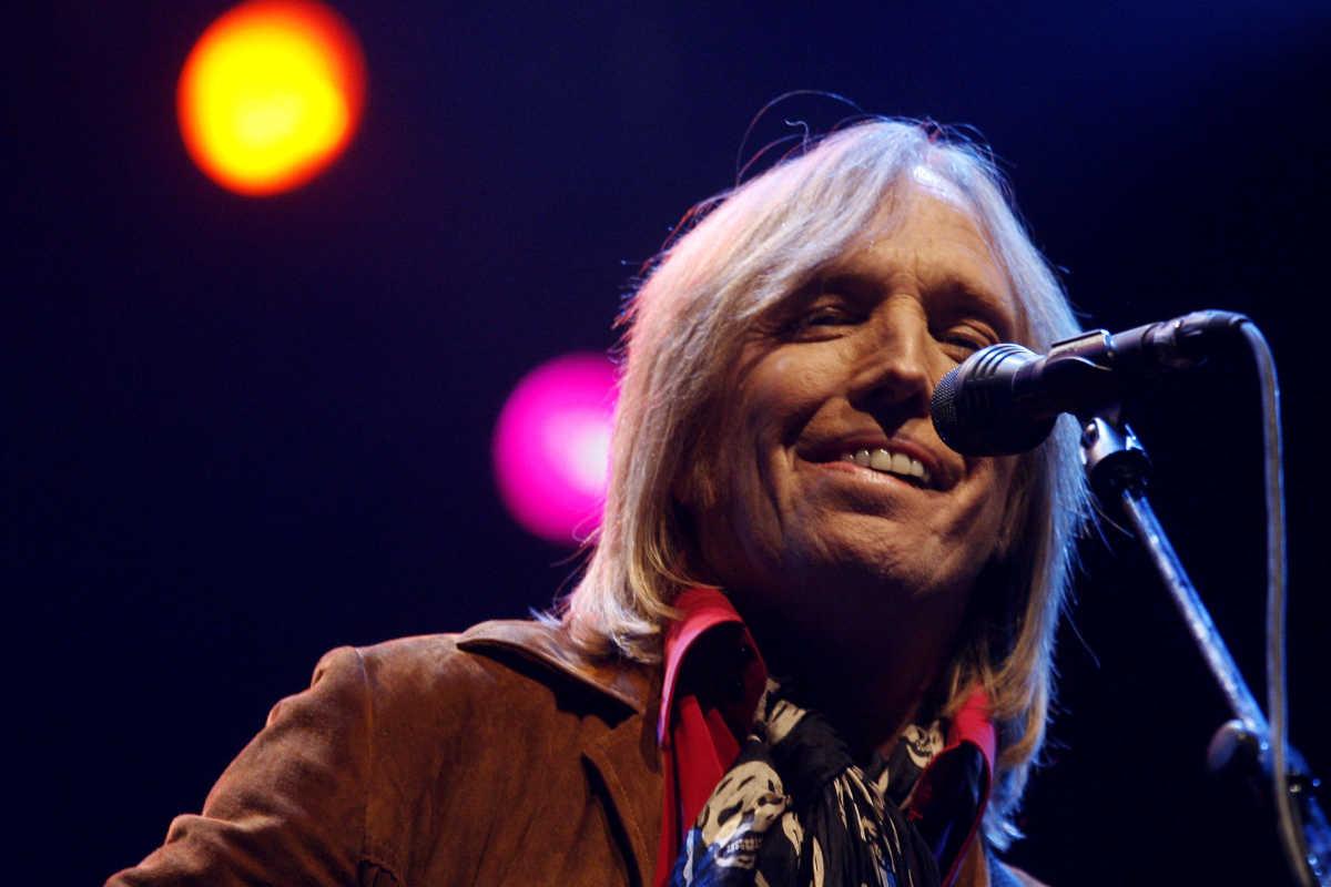 Tom Petty performs during the Vegoose music festival at Sam Boyd Stadium in Las Vegas on Saturday, Oct. 28, 2006.