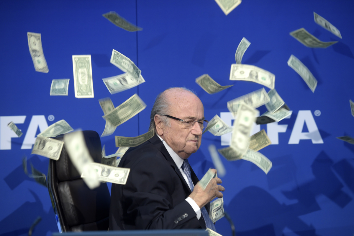 Sepp Blatter's 17-year reign as FIFA president ended in disgrace in 2015 amid the fallout from American prosecutors charging dozens of soccer officials with corruption, including World Cup vote buying.