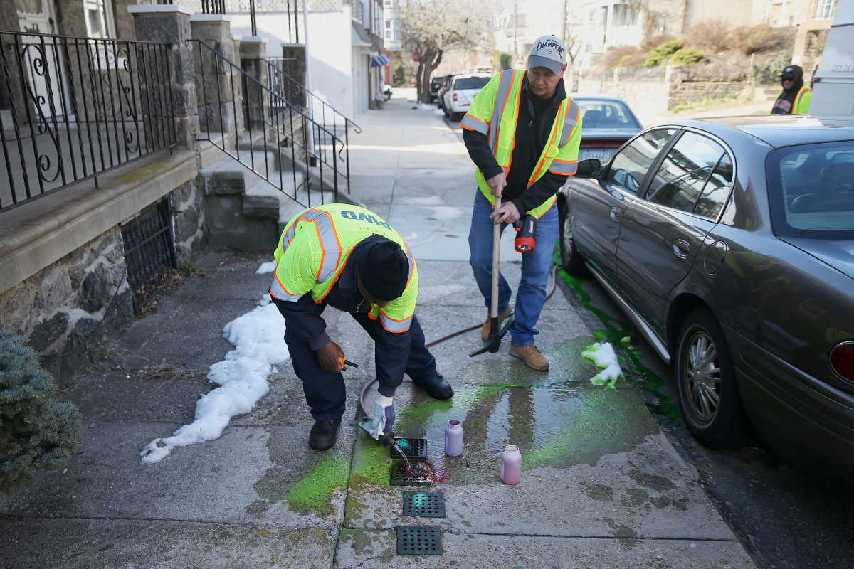 In some Philly homes toilets flush into citys drinking water source