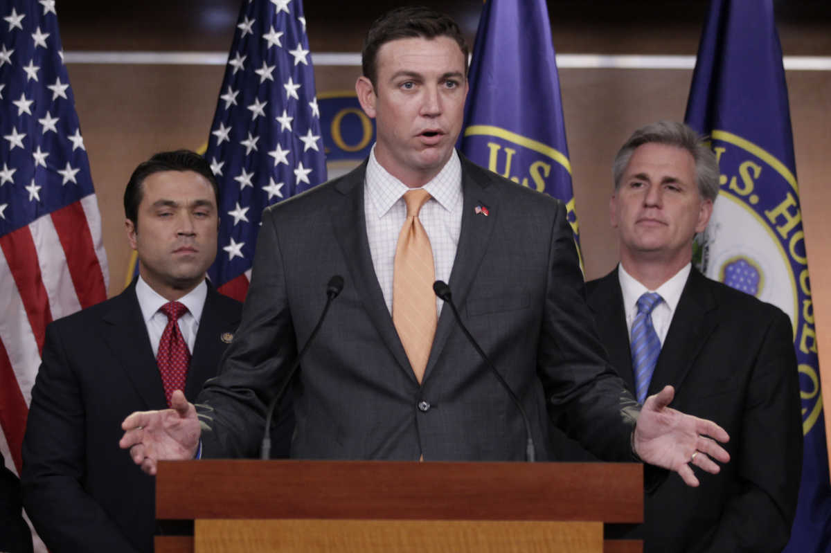 U.S. Rep. Duncan Hunter (R., Calif.) in 2011.