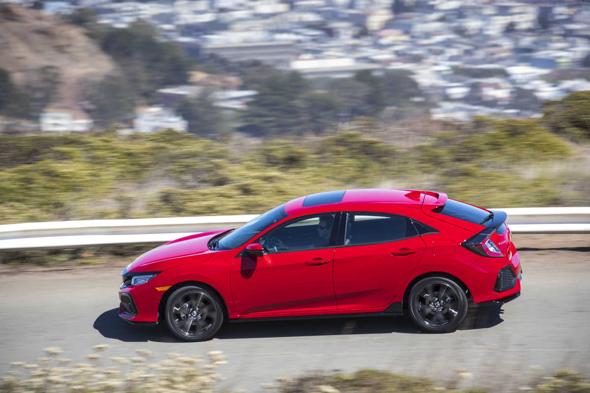 The 2017 Honda Civic Hatchback Sport is a bold new design for the company's small entrant.