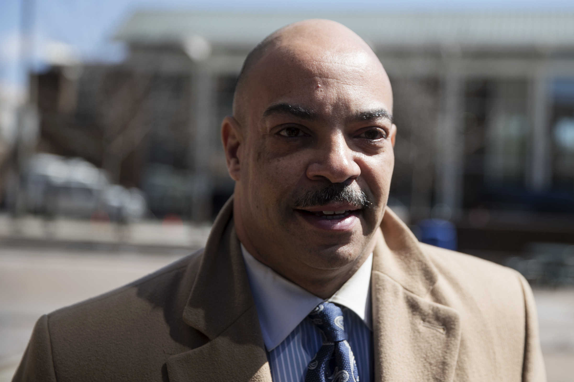 Philadelphia District Attorney Seth Williams was arraigned Wednesday on bribery and extortion charges. (AP Photo / Matt Rourke)