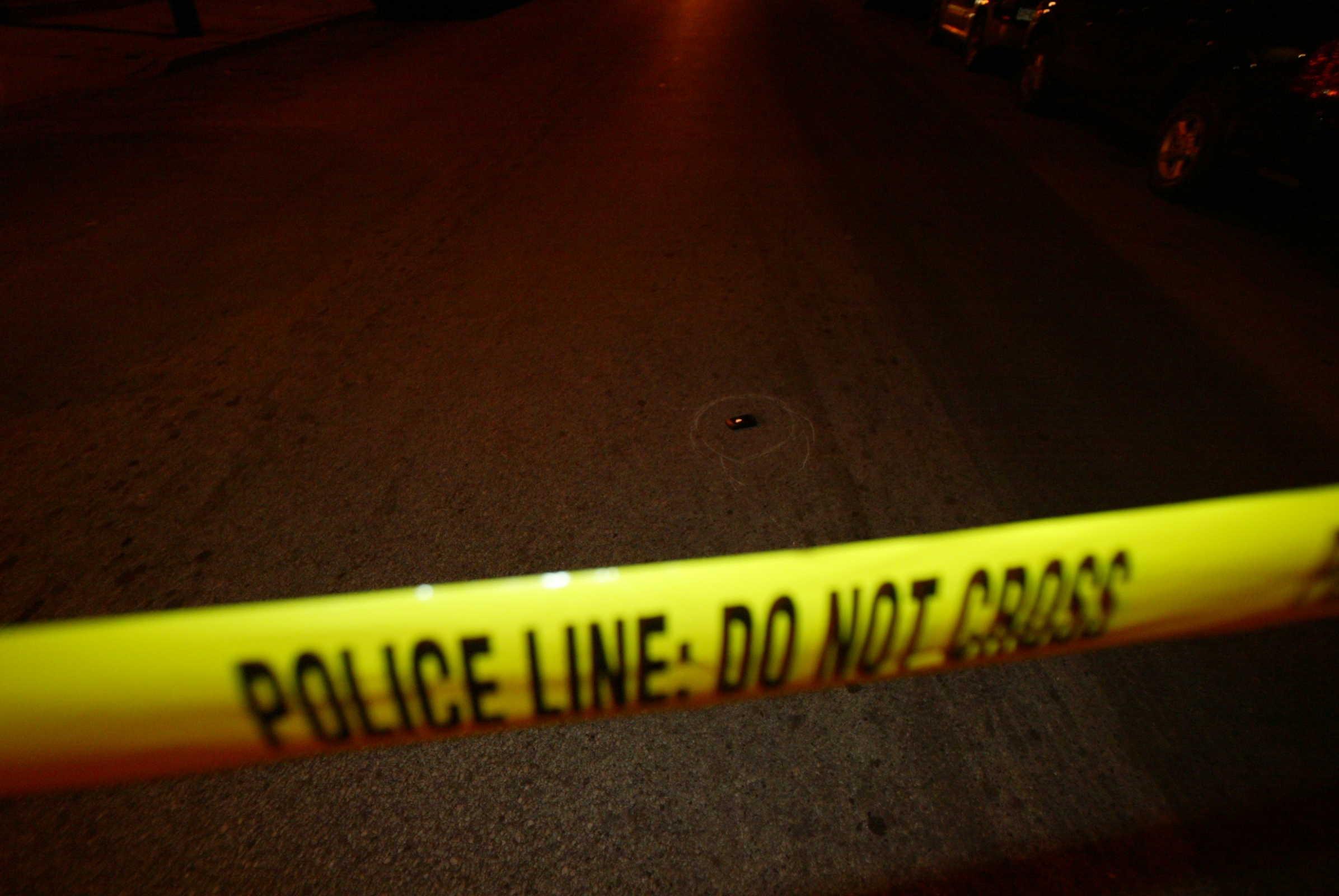 Police tape Police Line: Do Not Cross - January 10, 2007.   Steven M. Falk / Philadelphia Daily News.