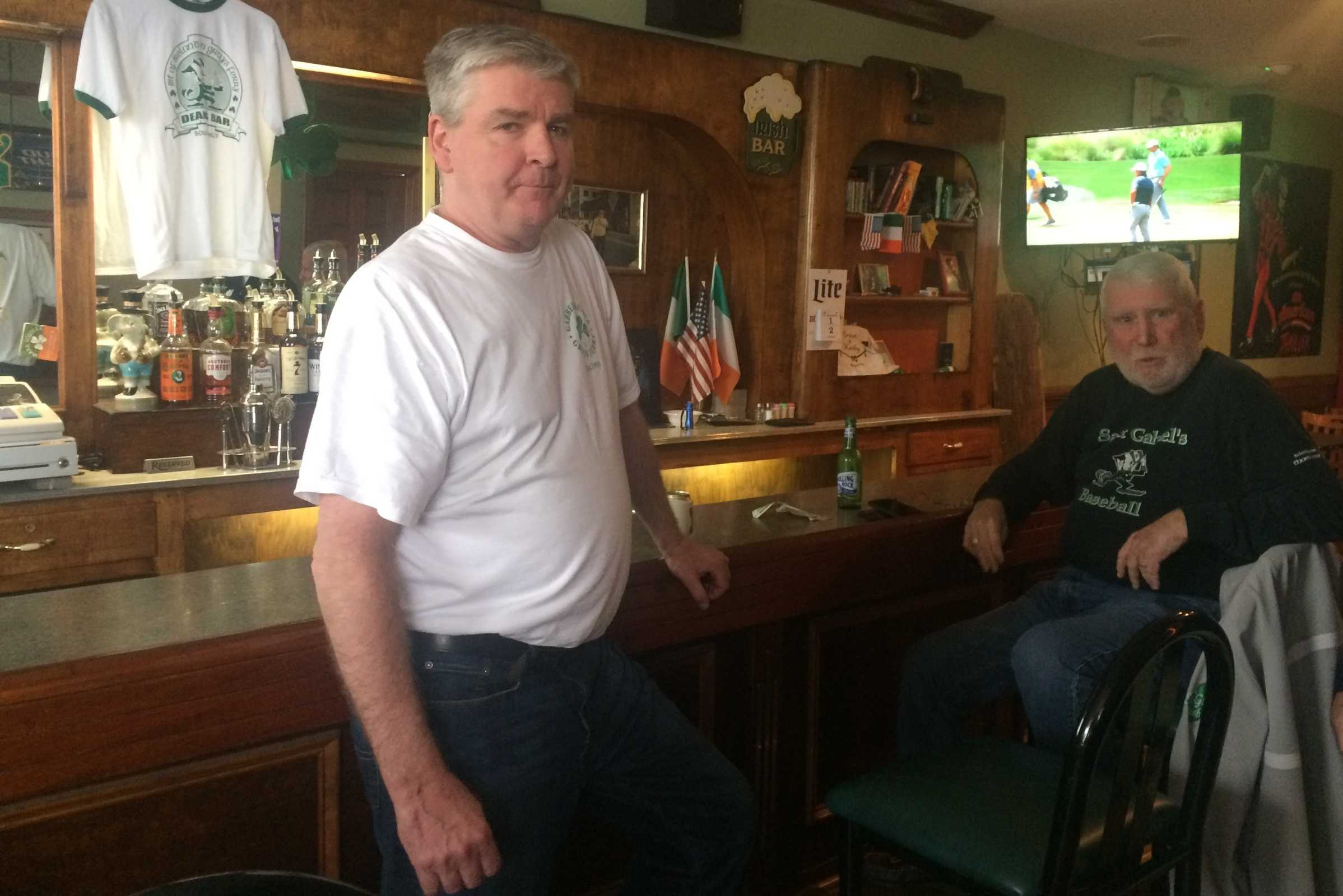Phelim Dean, owner of Dean's Bar, a Gray's Ferry fixture.