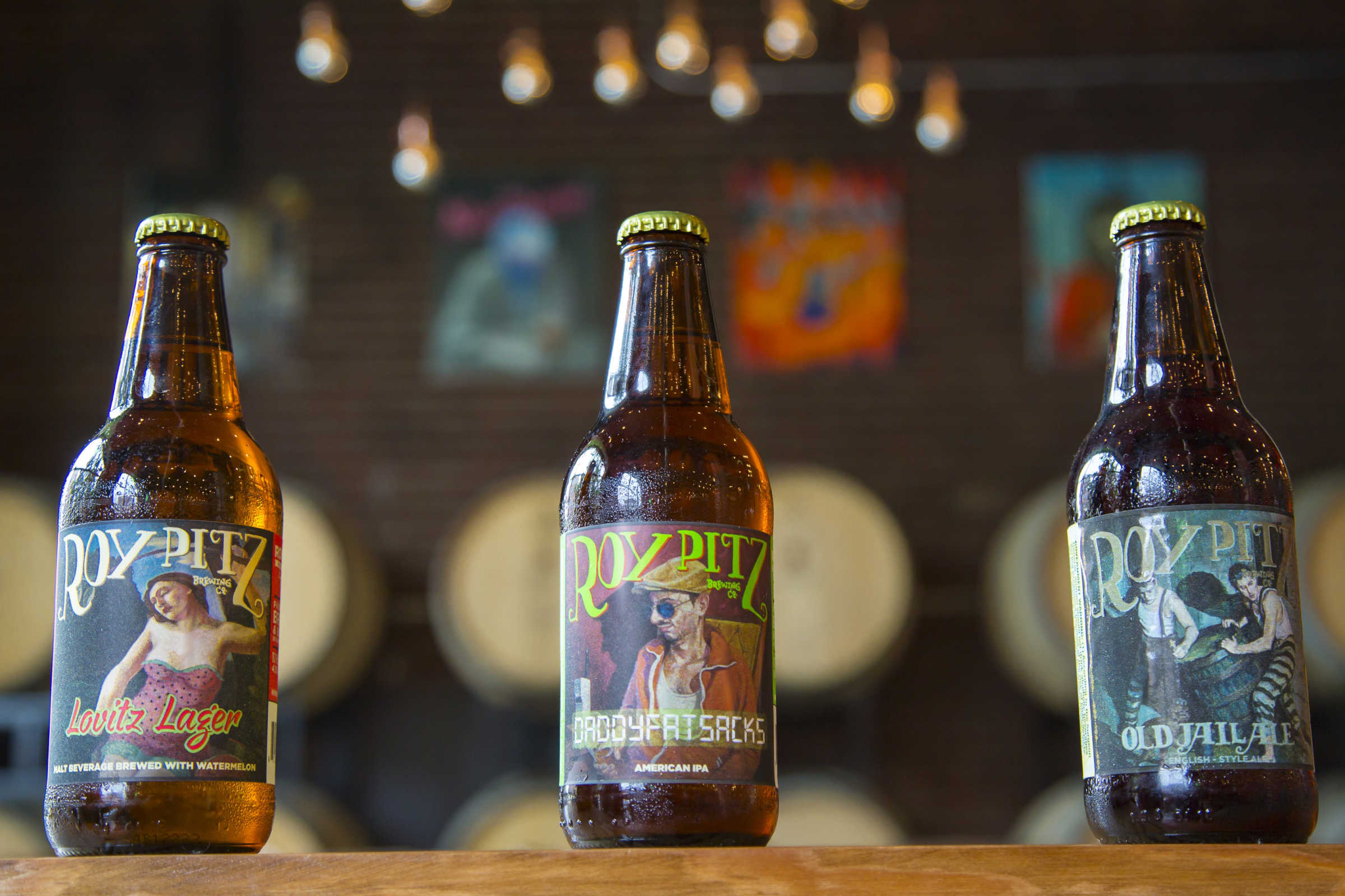 Roy-Pitz, a brewery based in Chambersburg, has hired a Maryland artist to create original oil paintings to be reproduced on each beer label and tap handle.