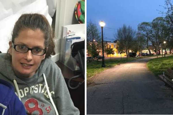 Michelle Kolk, 40, died on Tuesday, April 25, 2017, after she was run over by a police car that was traveling in reverse on a pedestrian-and-vehicle path in McPherson Square in Kensington the week before.