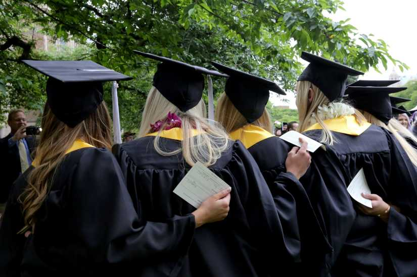 Information is scarce about how many high school students graduate from college.
