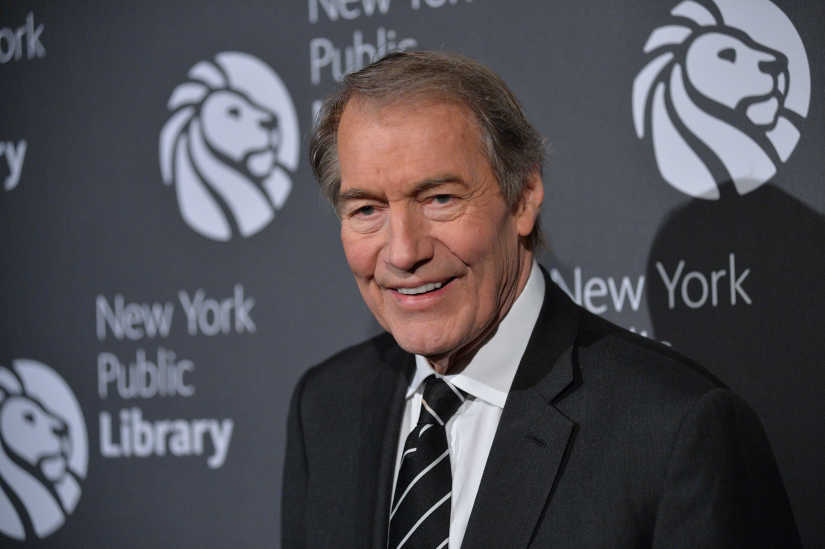 Charlie Rose is photographed on Nov. 7, 2016 at the NYPL Library Lions Gala in New York, New York.