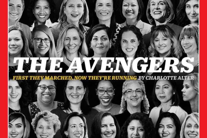 Jan. 29, 2018 cover of Time Magazine, featuring three Philadelphia-area women.