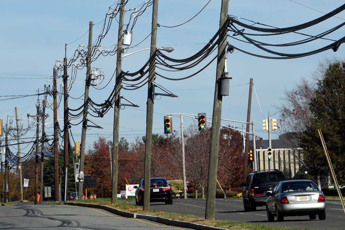 Access to telephone poles has been a battleground between incumbent broadband providers such as Comcast and AT&T and new competitors such as Google.