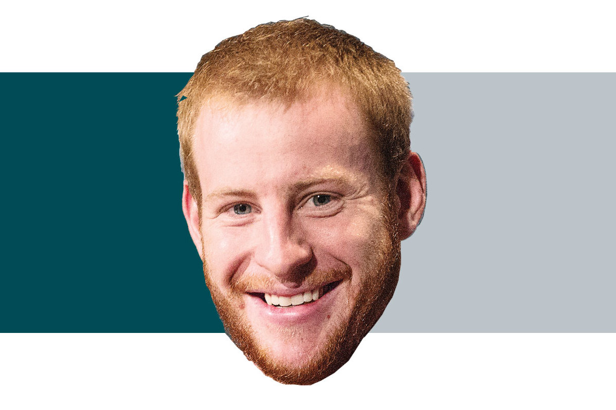 Graphic the carson wentz confidence scale week 17 philly for The carson