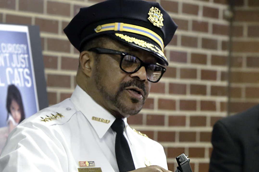 Philadelphia Sheriff Jewell Williams.