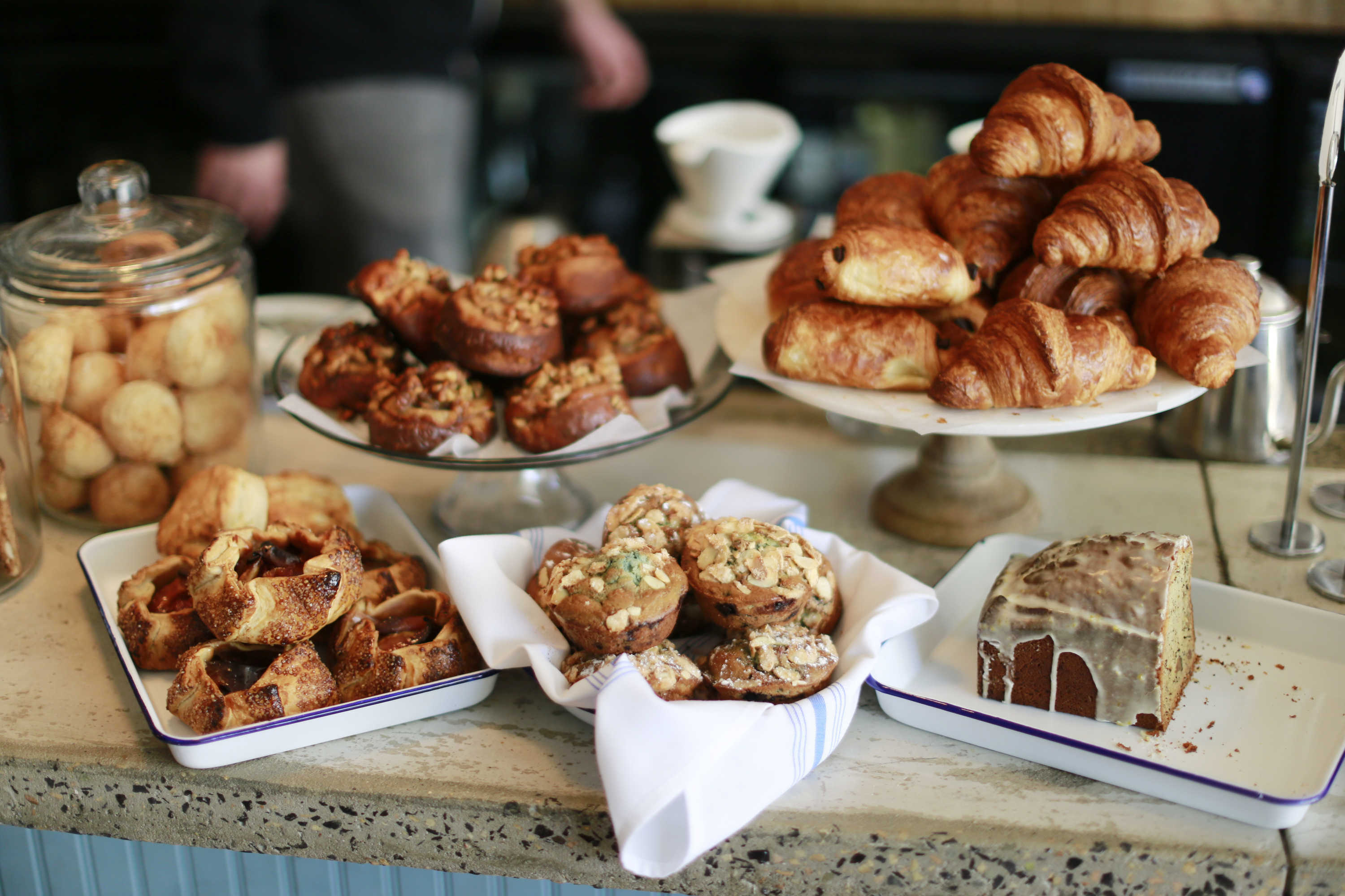 A montage of the breakfast pastries The Hungry Pigeon, 743 S 4th St., Wednesday March 30, 2016 DAVID SWANSON / Staff Photographer