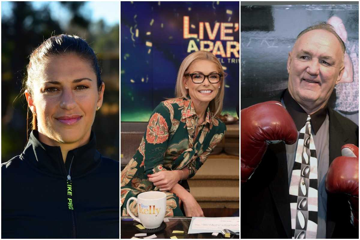 Carli Lloyd, Kelly Ripa and Chuck Wepner will be inducted into the NJ Hall of Fame