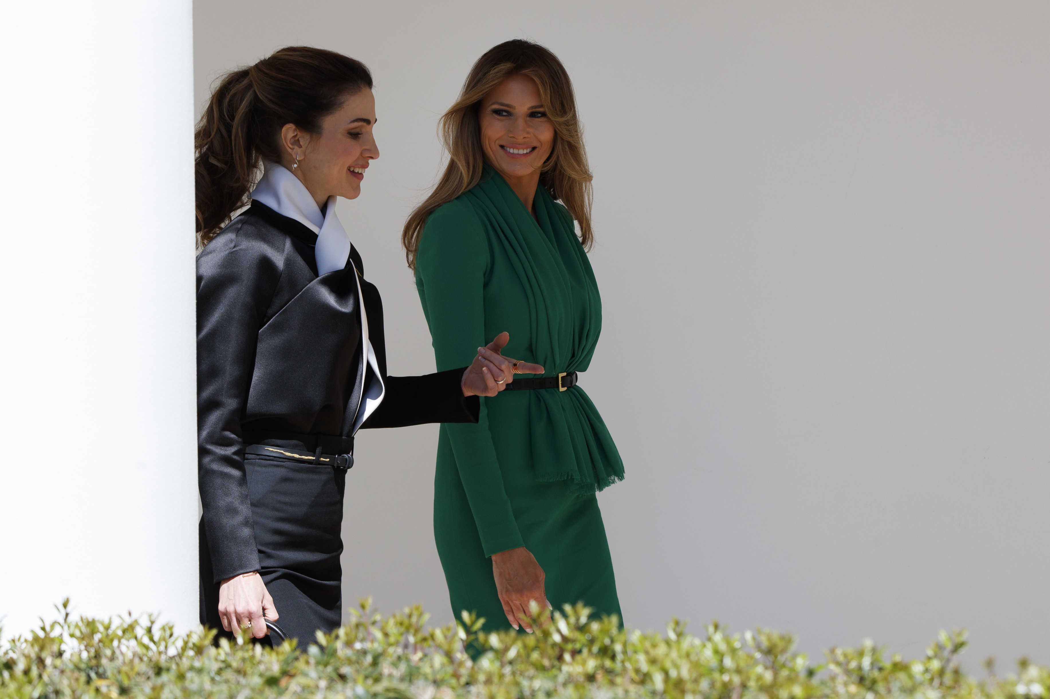 philly columnists elizabeth wellington reading into first lady melania trumps days fashion