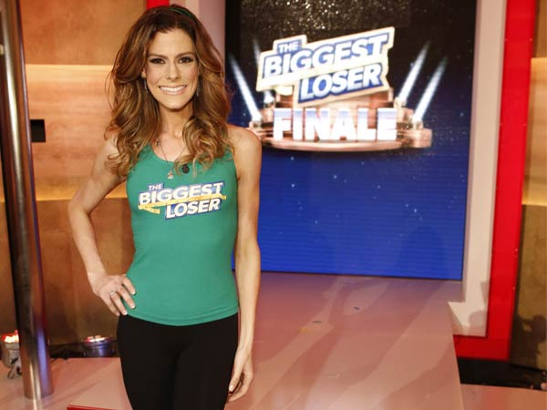 "This Feb. 4, 2014 photo released by NBC shows Rachel Frederickson on the finale of ""The Biggest Loser,"" in Los Angeles. Fredrickson lost nearly 60 percent of her body weight to win the latest season of ´The Biggest Loser´ and pocket $250,000. A day after her grand unveiling on NBC, she faced a firestorm of criticism in social media from people who said she went too far. (AP Photo/NBC, Trae Patton)"