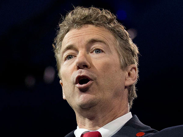 Sen. Rand Paul, R-Ky., perpetuated the supply-side myth that tax cuts produce more revenue rather than less.  (AP Photo/Manuel Balce Ceneta)