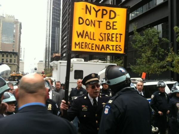 Capt. Ray Lewis at Occupy Wall Street