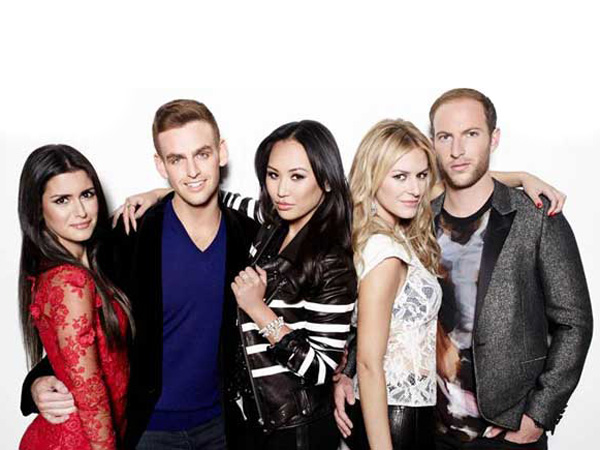 "The cast of E!´s new reality series ""#RichKids of Beverly Hills."""