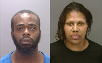 Ronald Moore and Tamika Wilkins were arrested Sunday in connection with the April 4 beating and robbery of a Center City parking attendant. (Photo: Philadelphia Police)