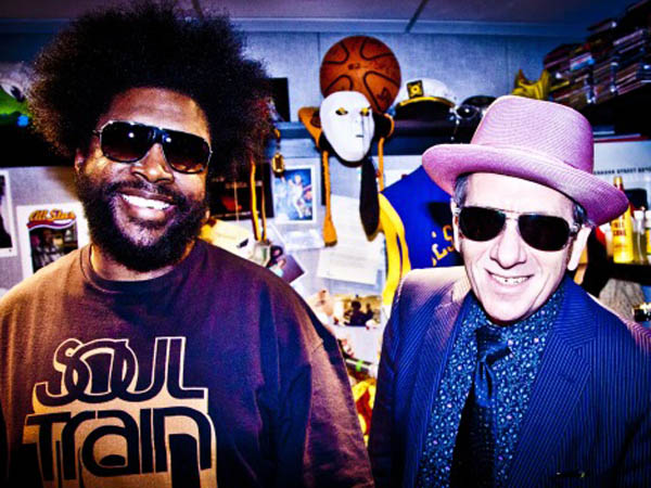 Questlove and Elvis Costello.