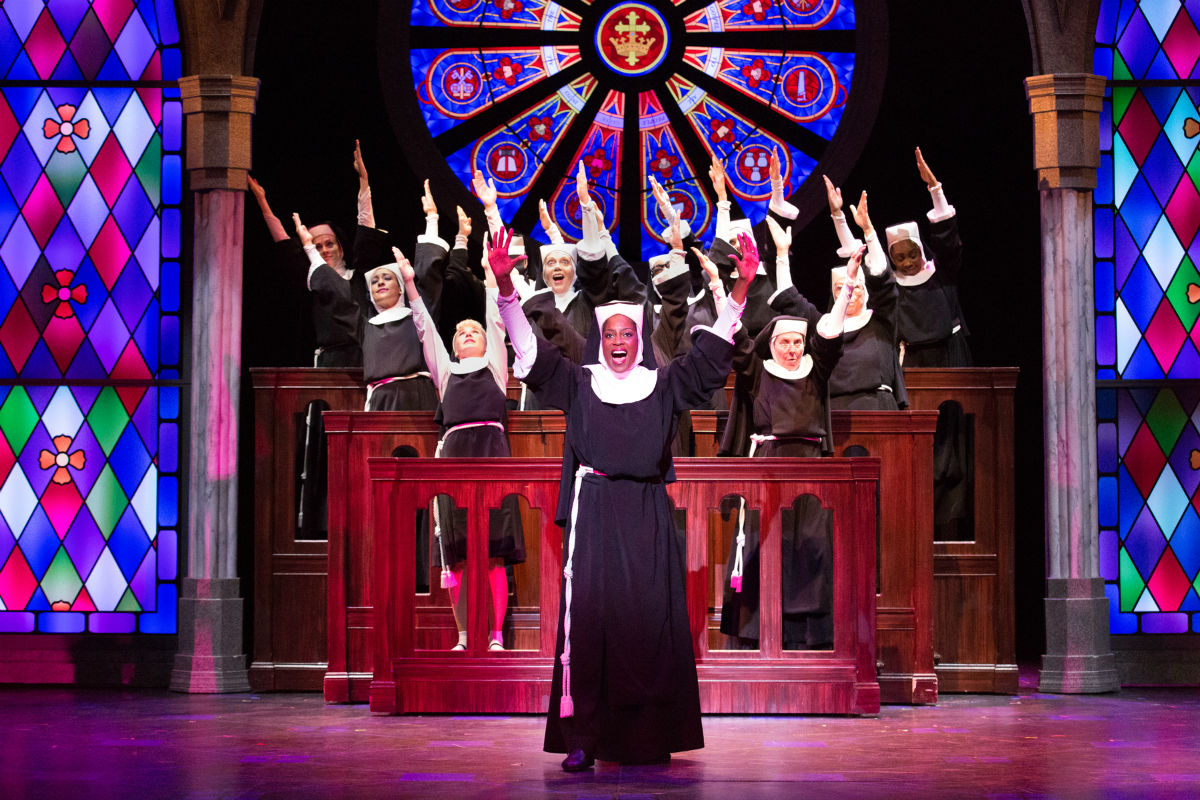 sister act at the walnut street splendid leads kitsch