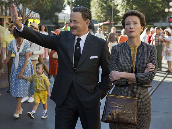 Walt Disney (Tom Hanks) shows Disneyland to P.L. Travers (Emma Thompson). (Francois Duhamel/Disney Enterprises, Inc./MCT)