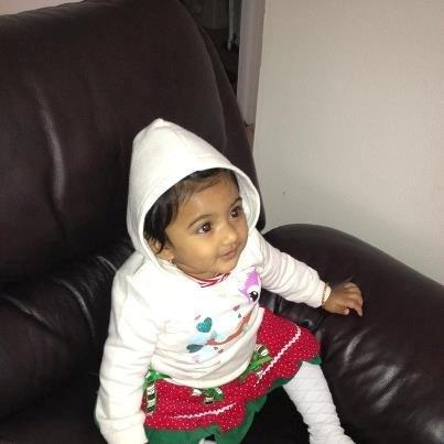 State police issued an Amber Alert Monday afternoon for Saavni Venna, a 10-month-old girl who was abducted in Upper Merion Township. (photo courtesy of the Pennsylvania State Police)